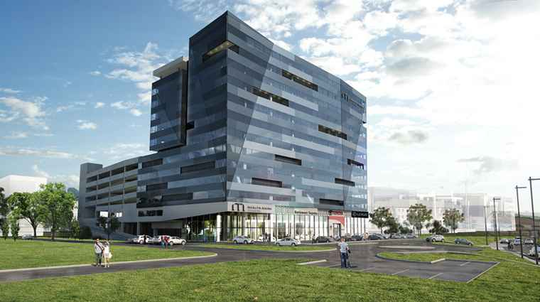 A artist's impression of Menlyn Maine Towers.