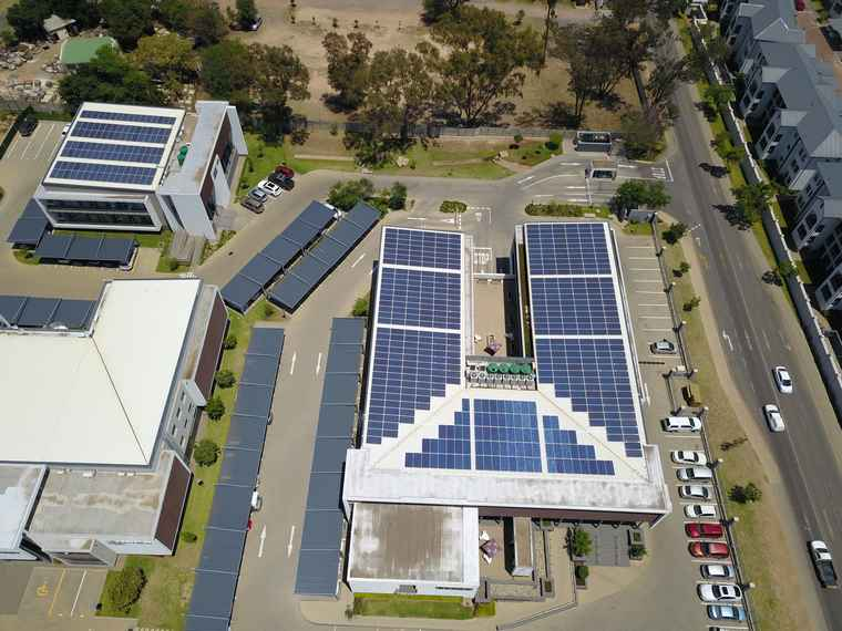 Willow Wood Office Park in Fourways, Gauteng.