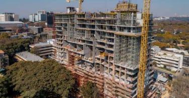 Redefine's Park Central development in Rosebank.