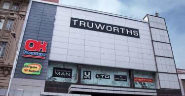 Truworths store at 381 -389 West street, Durban.