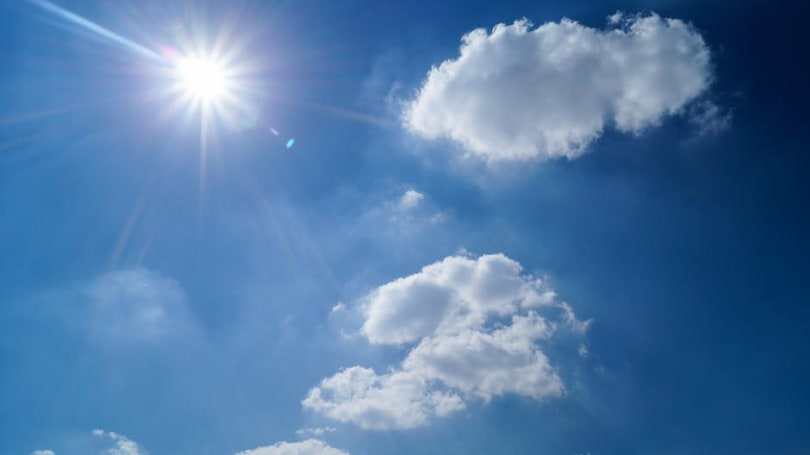sun sky