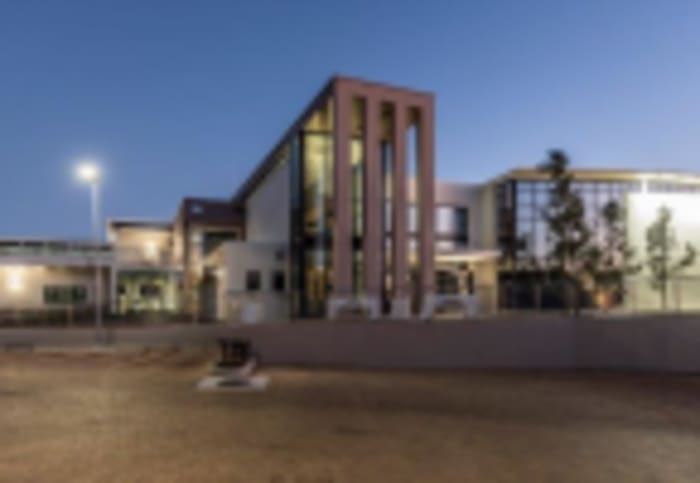 An artist's impression of the National English Literary Museum which has just been awarded a 5-Star Green Star SA Public & Education (PEB) v1 As-Built certification.