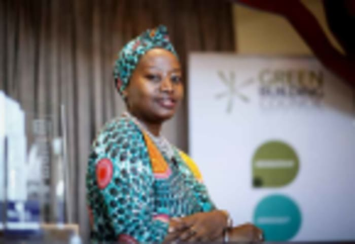 Dorah Modise, CEO of the Green Building Council South Africa (GBCSA).