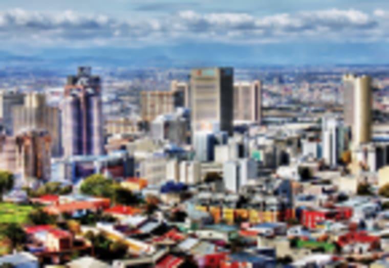 A view of Cape Town CBD.