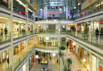 Super-regional malls and strip malls rely heavily on anchor tenants and restaurant trade.