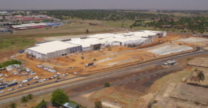 Springs Mall Construction