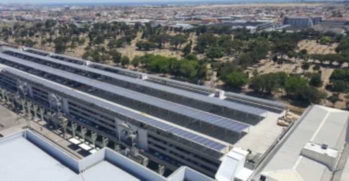 Drone View MutualPark Solar