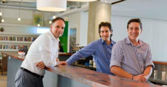 Co-owners of OPEN (from left) Paul Keursten, Mark Seftel and Westleigh Wilkinson.