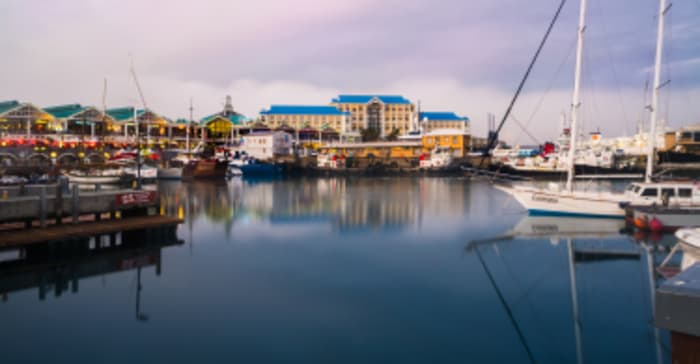 The Table Bay Hotel at the V&A Waterfront in Cape Town.