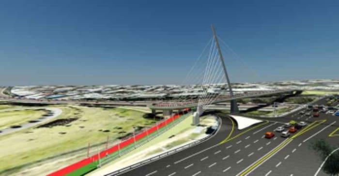 Grayston Pedestrian Cyclist Bridge
