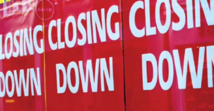 The closing down of big box retailers at some shopping centres is a cause for concern as it confirms the current tough trading market.