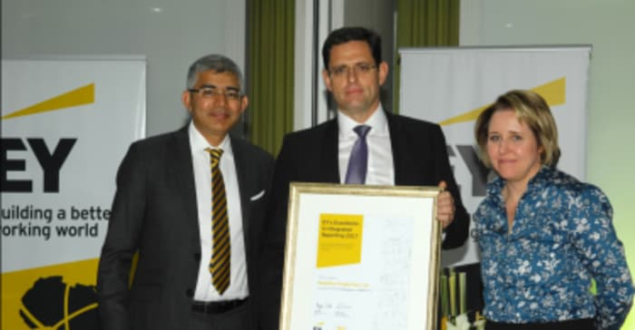 EY Excellence in Integrated Reporting Awards 2017