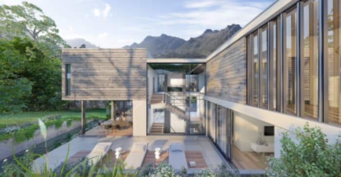 An illustration of the new Kerzner Estate which offers luxury residential houses, priced from just over R20m incl. VAT and with no transfer duty payable.