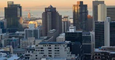 Cape Town's CBD.