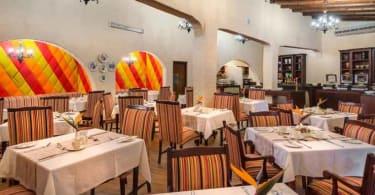 Malaga Hotel's restaurant.