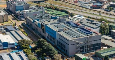 JB3 data centre facility, located within the Isando Campus in Ekurhuleni, east of Johannesburg.