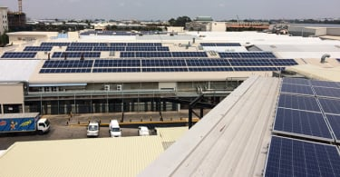 Emperors Palace Rooftop Solar