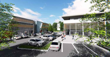 An artist's impression of the Umgeni Lifestyle and Décor Park in KwaZulu-Natal.