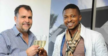 Louis van der Watt, CEO and Co-founder of Atterbury and Tebogo Mogashoa, Chairman of Talis Holdings.