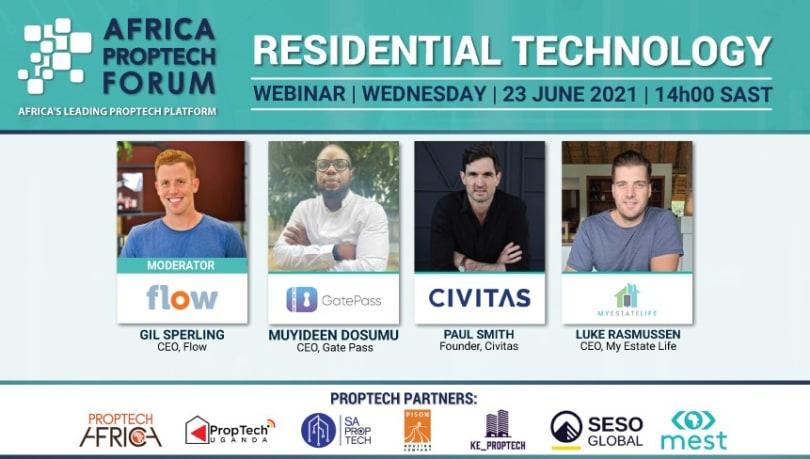 Africa PropTech Webinar Residential Technology