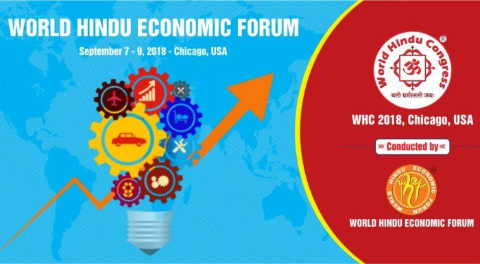 banner for the world hindu economic forum