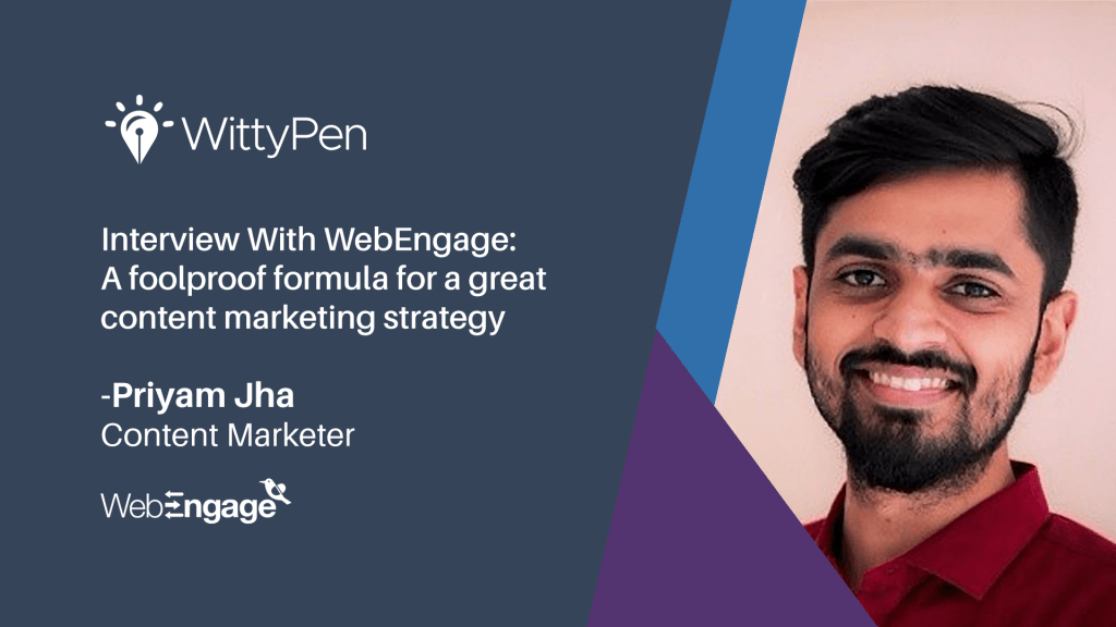 Content Marketing Statergy by webengage