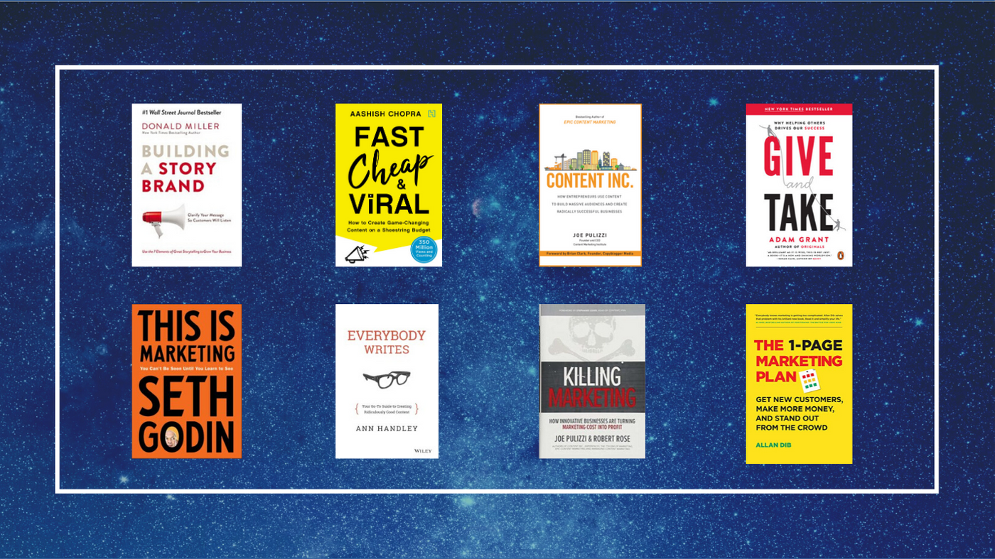 Books for Content Marketers in 2020