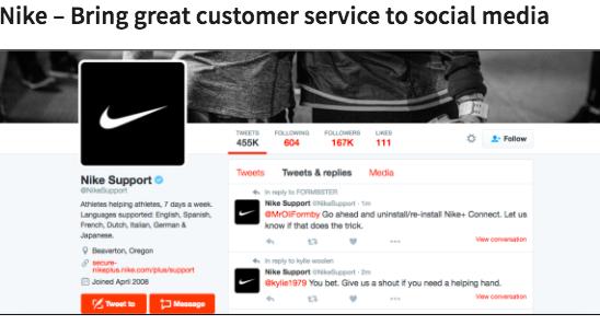 Nike Lifestyle Marketing example