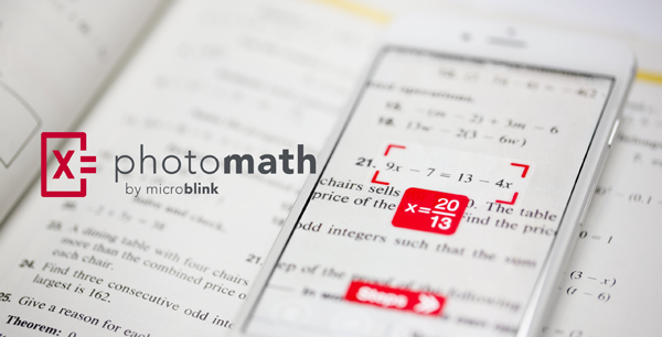 Photo math app