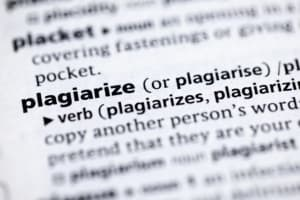 Types of Plagriasm