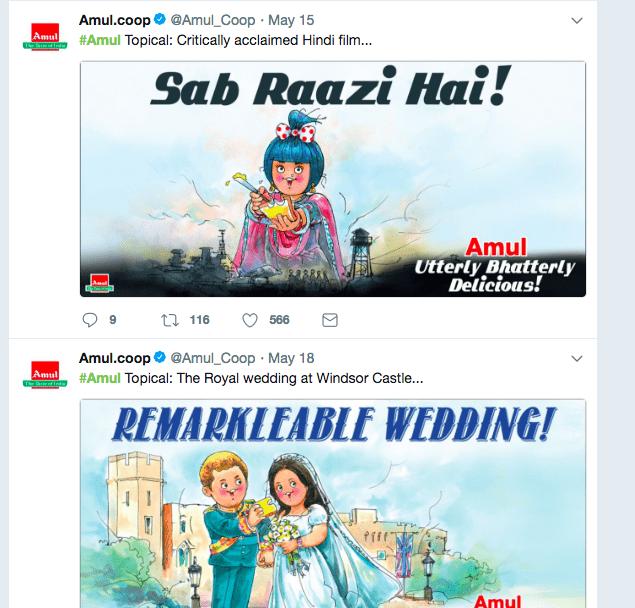 Amul Twitter