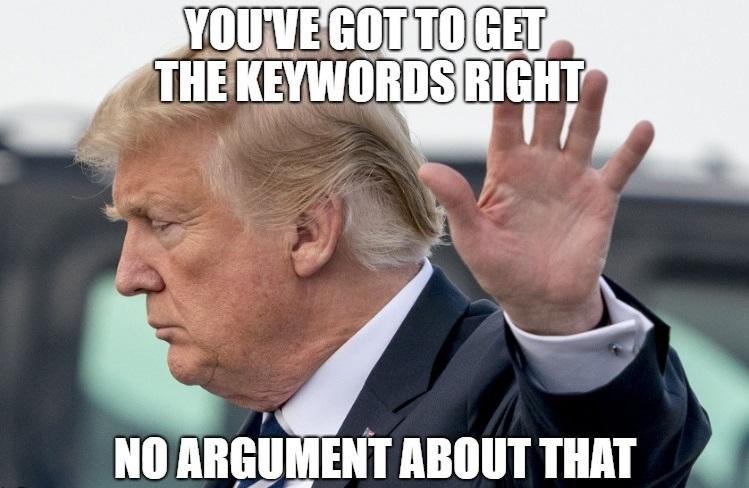 SEO Keywords WittyPen
