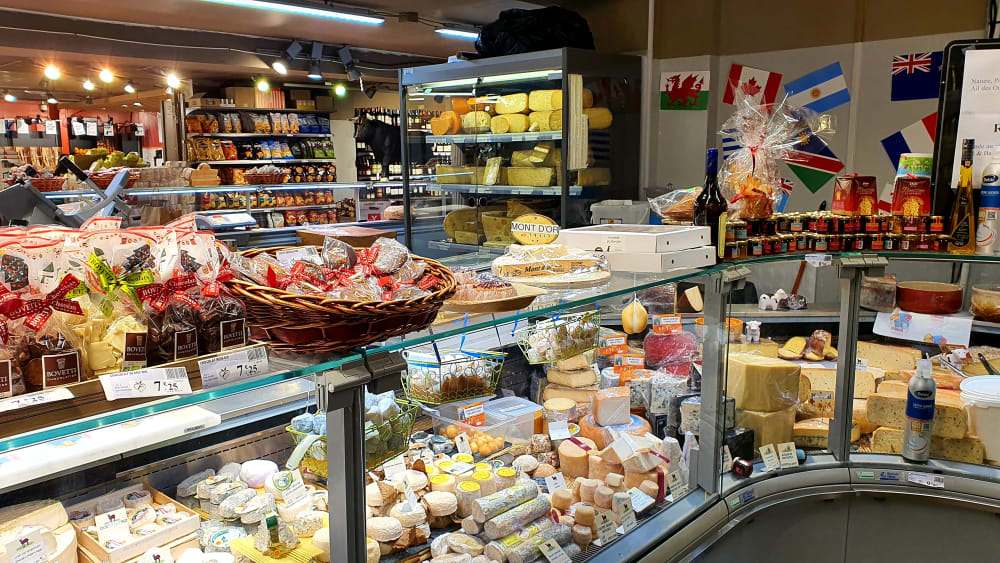 Fromagerie independante Franprix