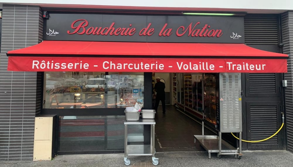 Boucherie de la Nation