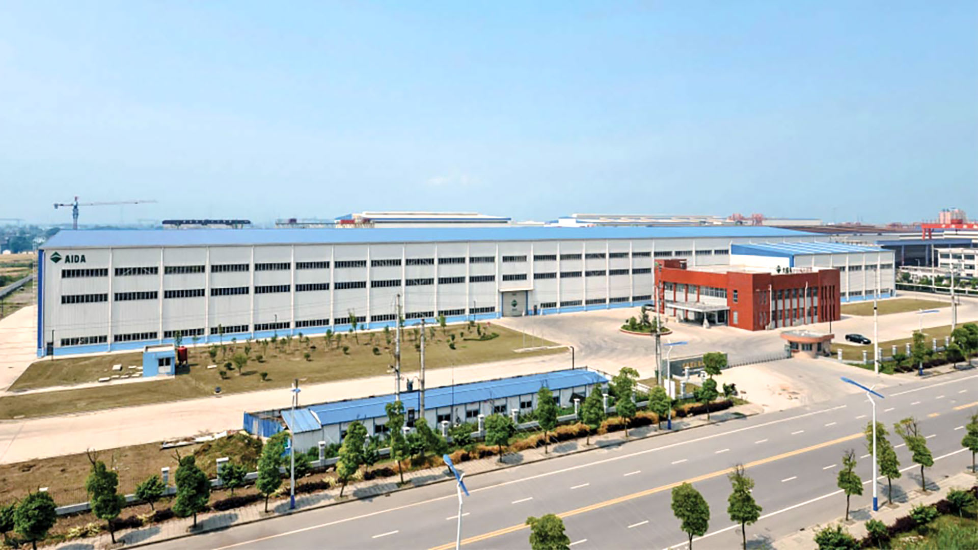 AIDA Press Machinery Systems, AIDA's Manufacturing Facility in China