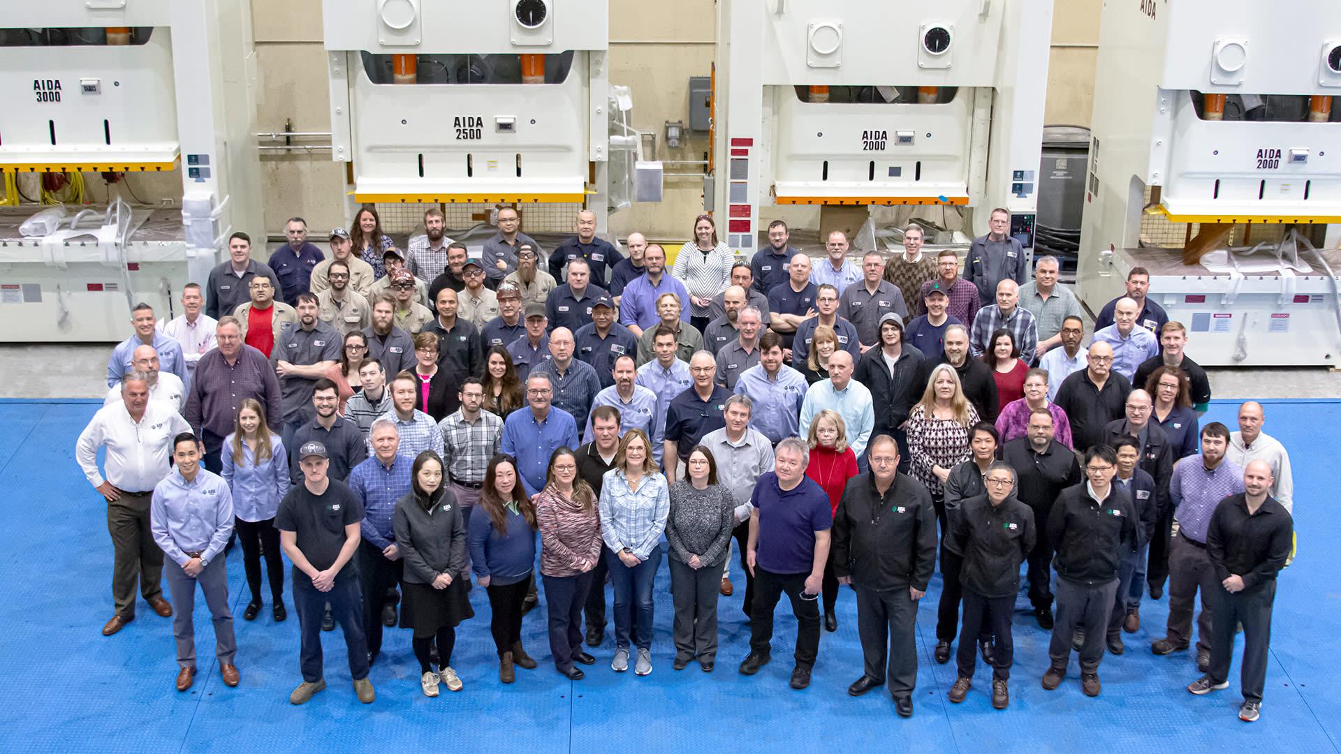 AIDA-America 180,000 sq. ft. Advanced Manufacturing Facility