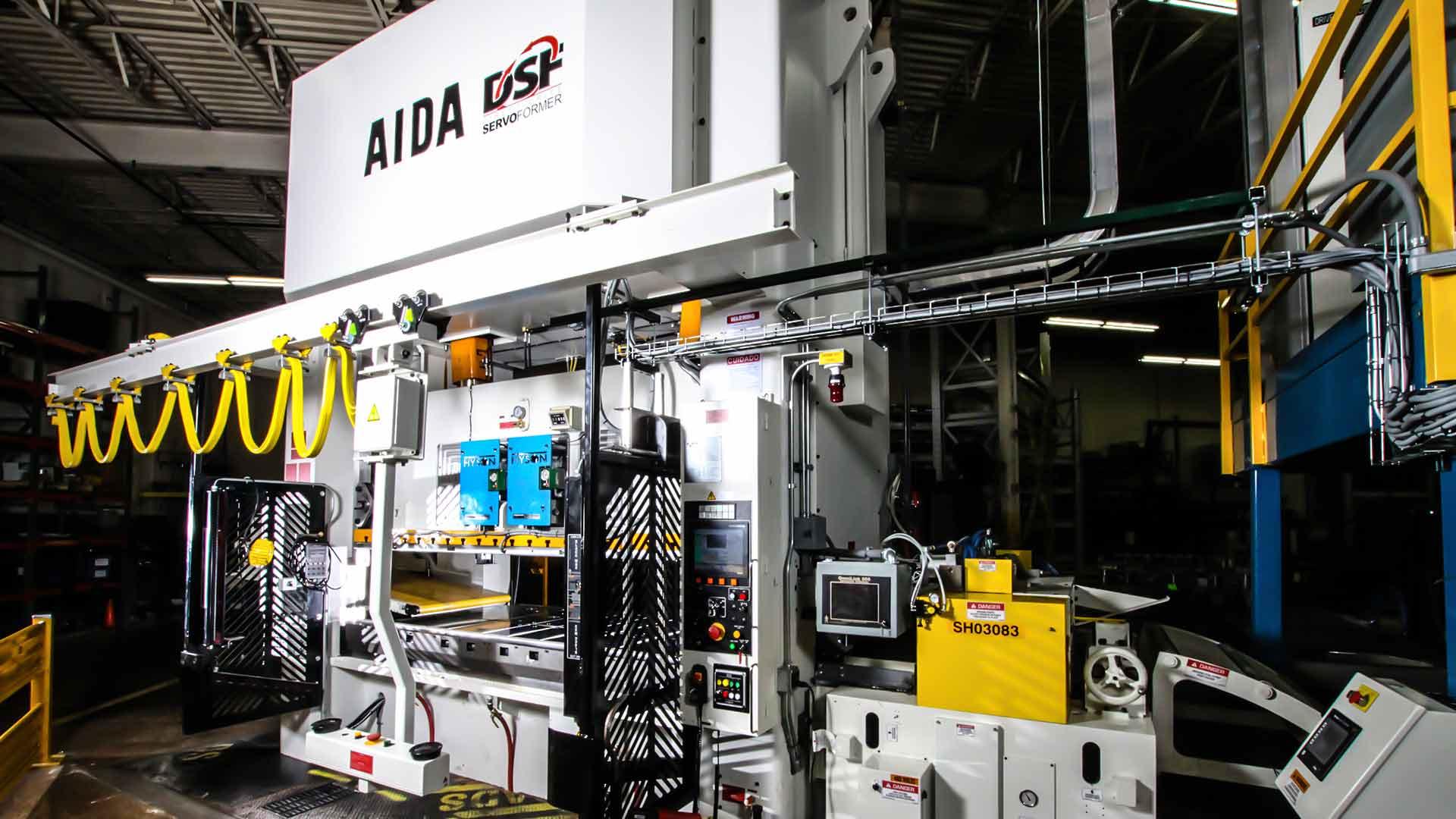 DSF-M2-3150, 315 Ton Servo Press