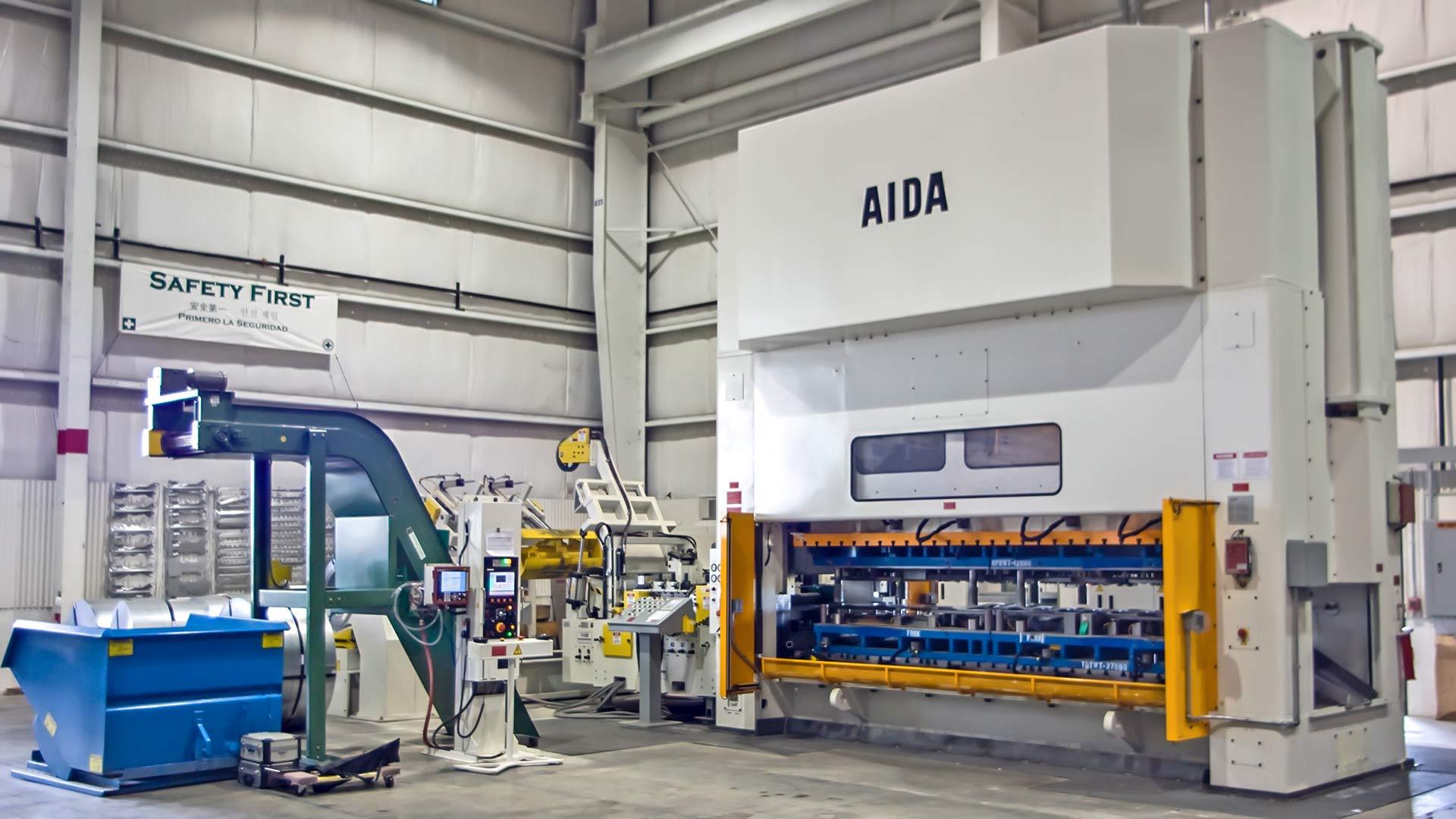 DSF-M2-6300, 630 Ton Servo Press