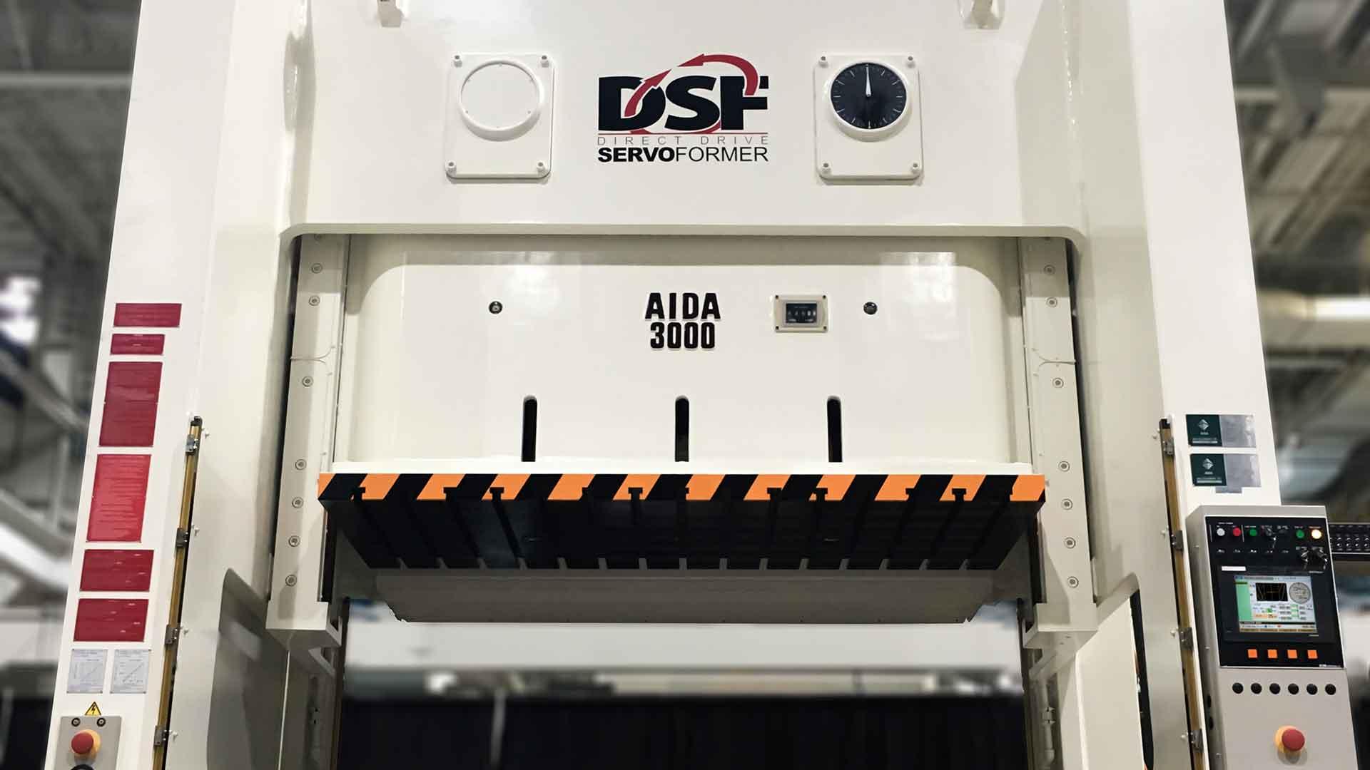 DSF-N2-3000, 300 Ton Unitized Frame Servo Press