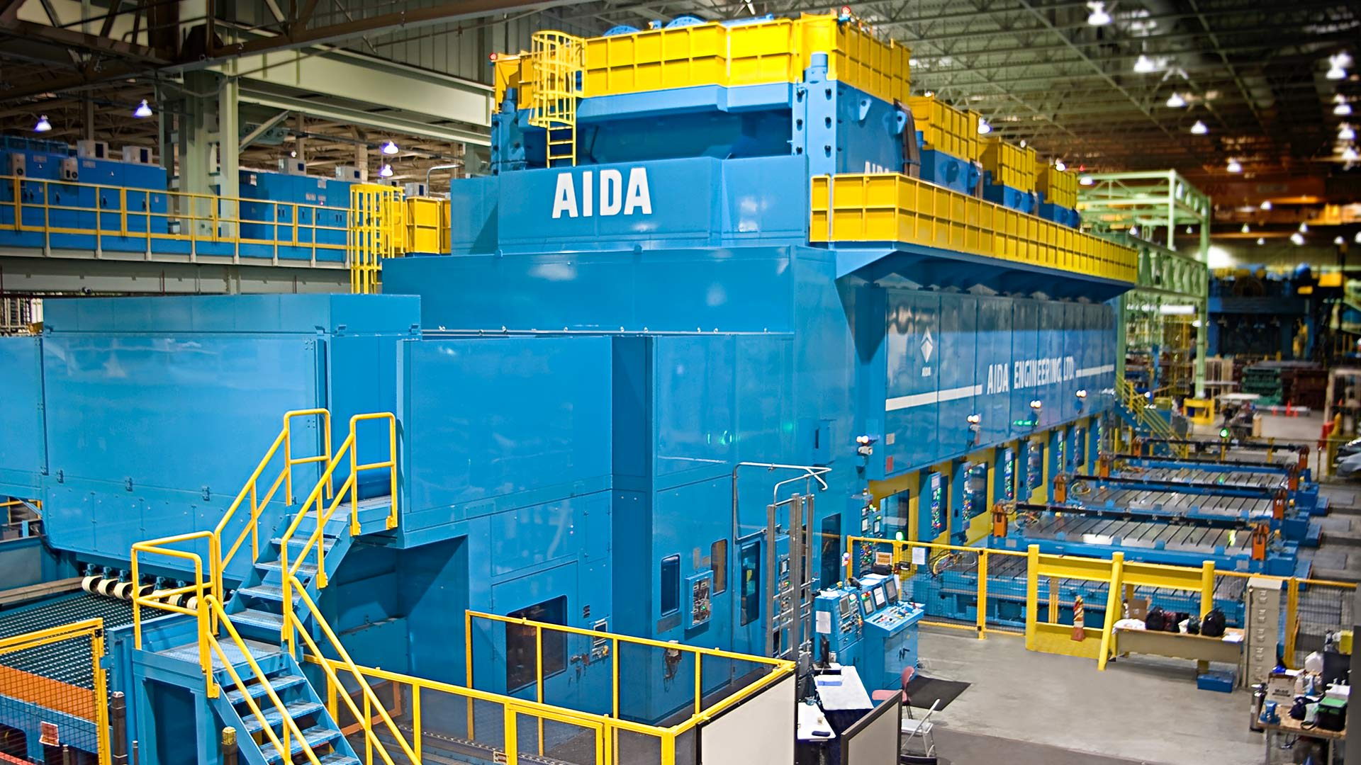 AIDA Servo Presses | Direct Drive Servo Press Technology