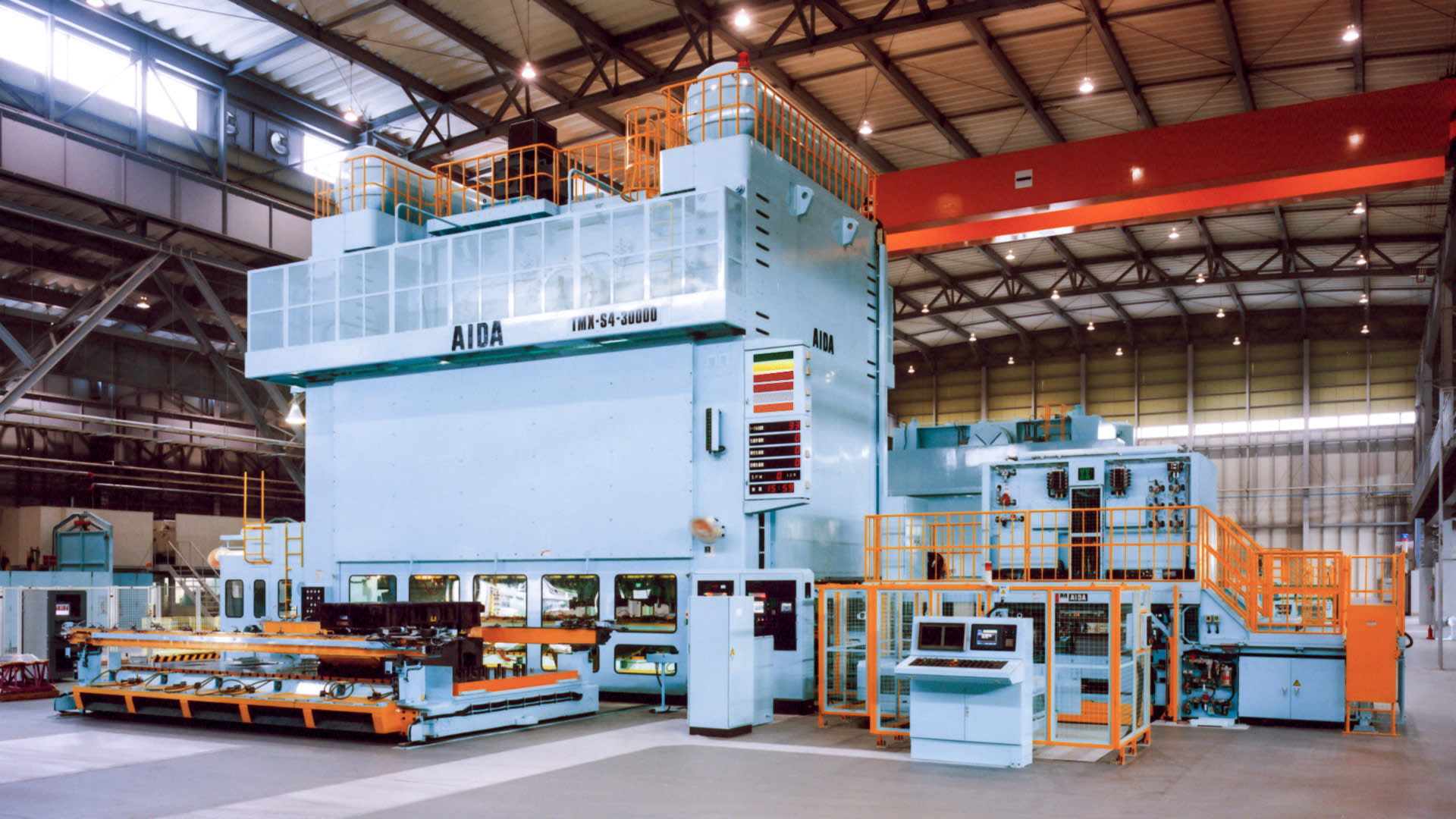 TMX-S4-30000, 3,000 Ton Mechanical Transfer Press