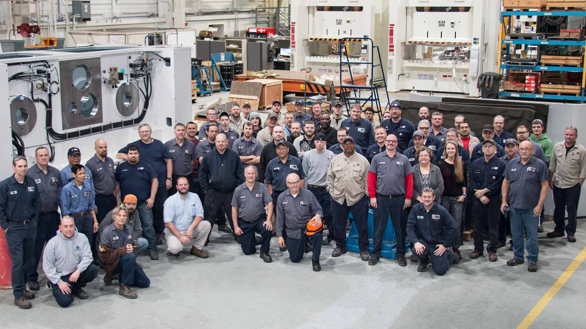 Manufacturing Team, Highly-Skilled and Dedicated Manufacturing Associates