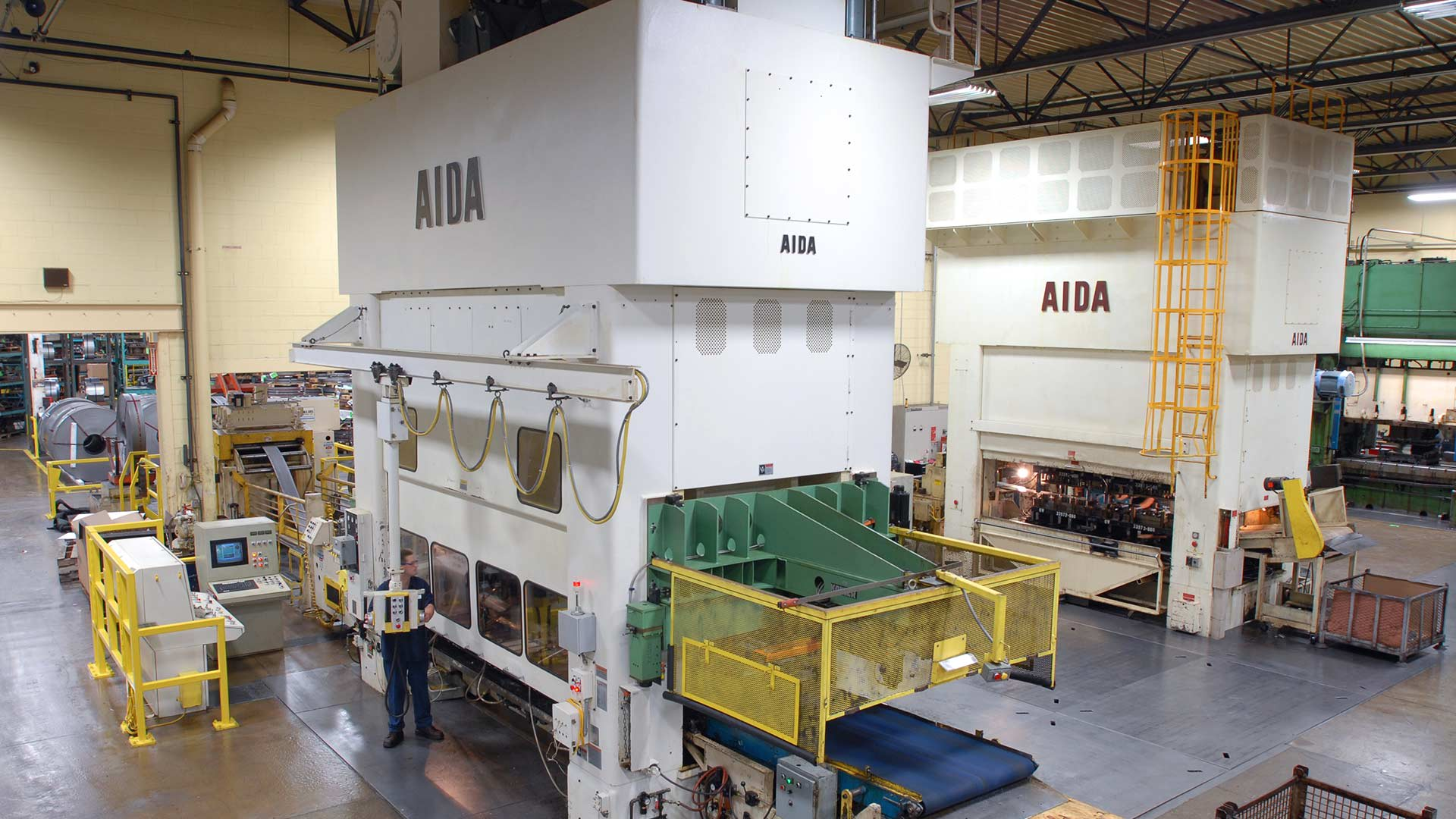 PMX-L2-8000 and PMX-L2-6000, 800 and 600 Ton Progressive Die Stamping Presses