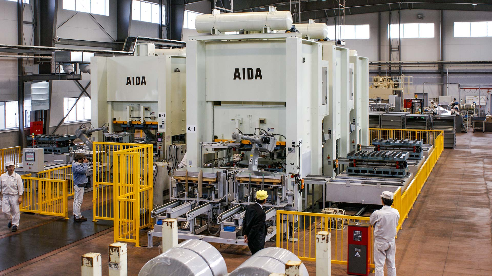 AIDA Mechanical Presses, Unitized Frame | NS2 | Stamping Press