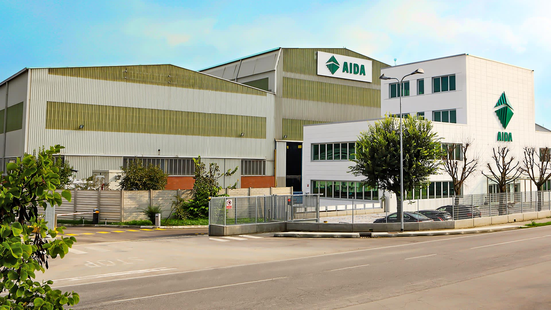 AIDA Europe Stamping Press Manufacturing in Europe