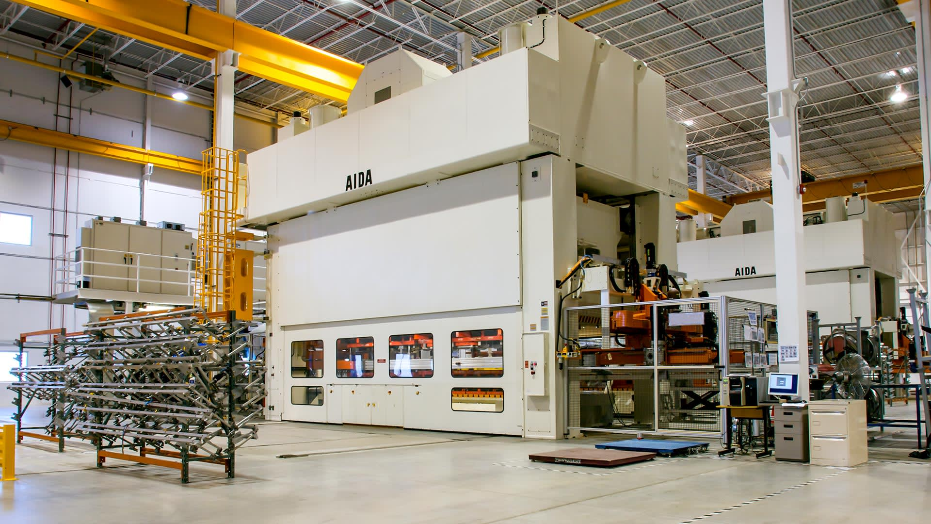 NST-12000 Straightside Mechanical Stamping Presses with Transfer System