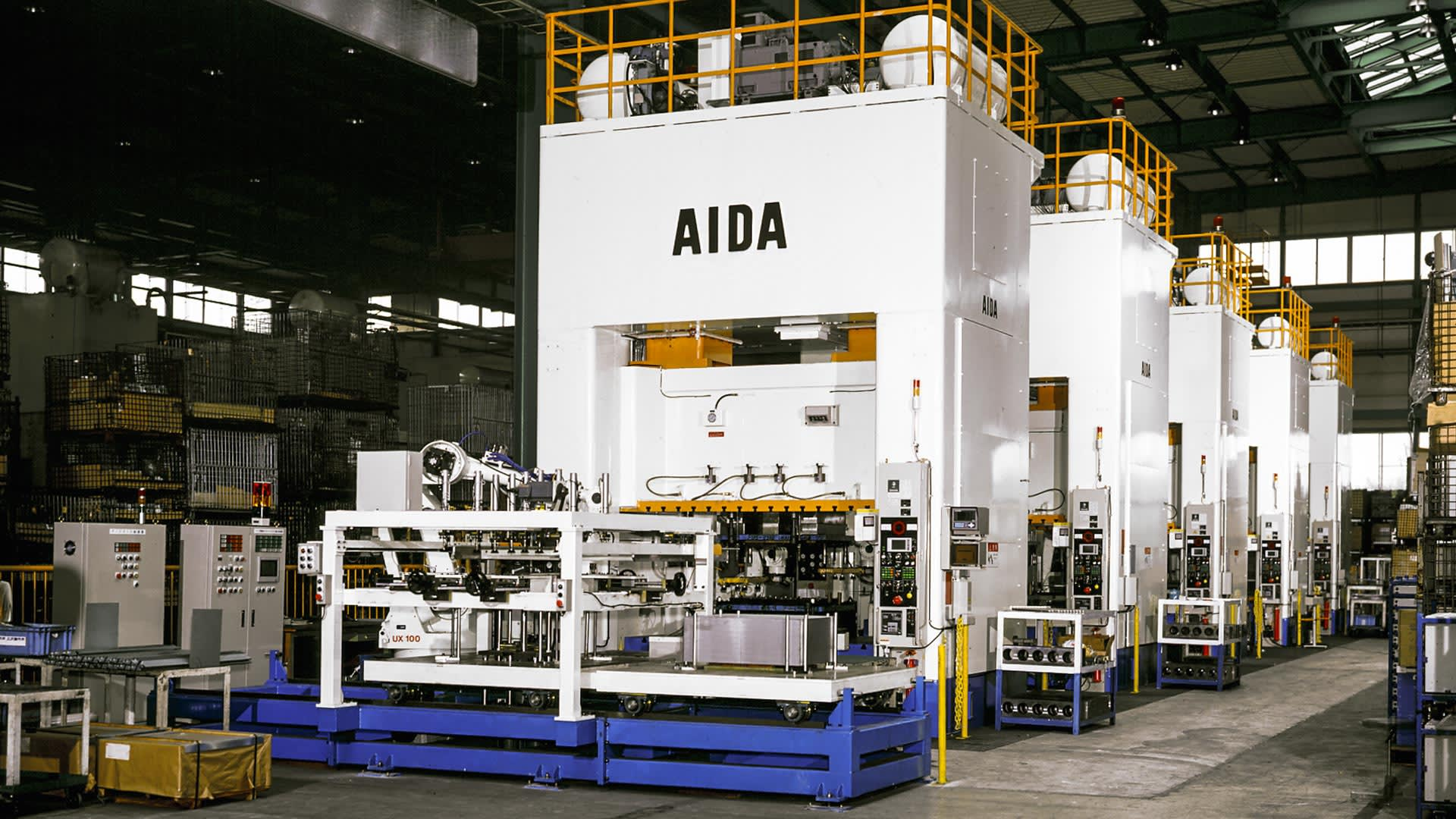 AIDA Mechanical Presses, Tandem and Transfer | SMX