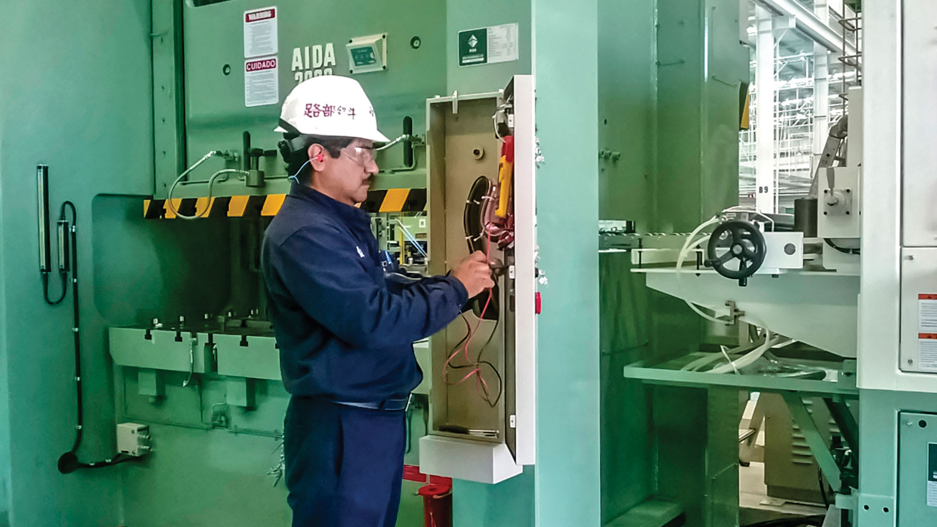 AIDA de Mexico Stamping Press Control Upgrade