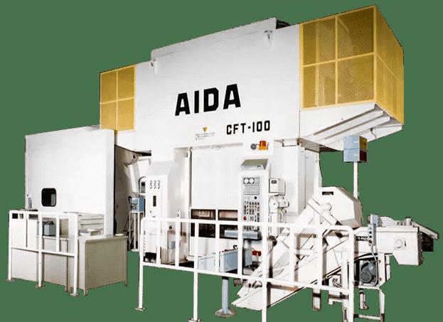 AIDA Cold Forging Transfer Presses | CFT