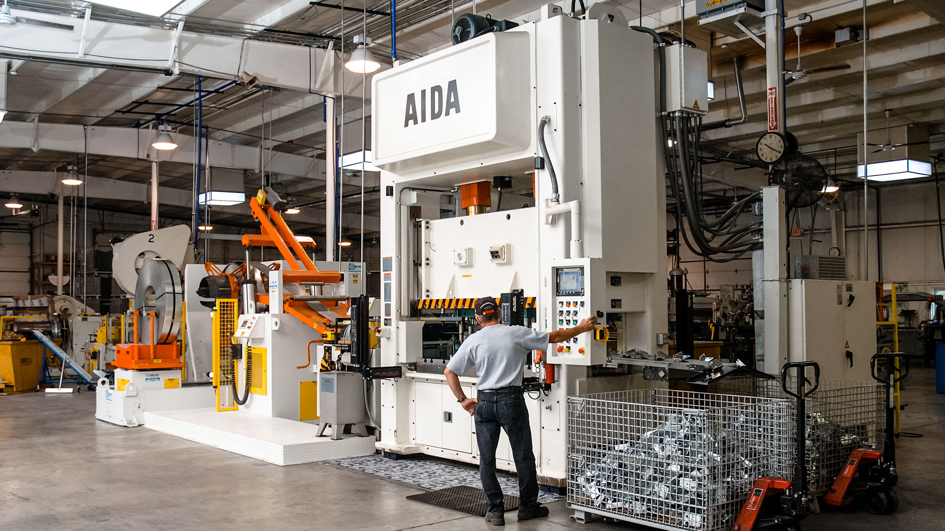 AIDA Mechanical Presses, Unitized Frame | NSU
